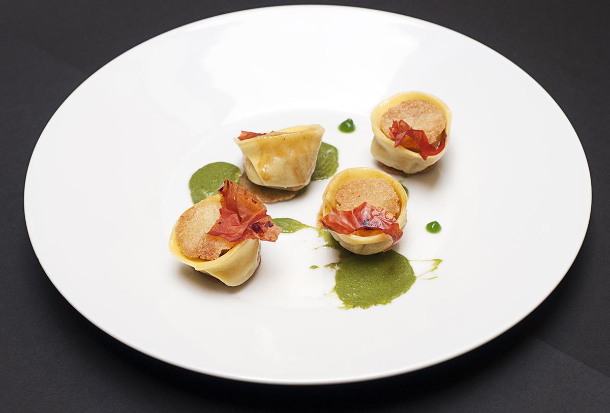 tortelli lampredotto salsa verde